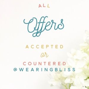 Other - All offers will be accepted or countered!